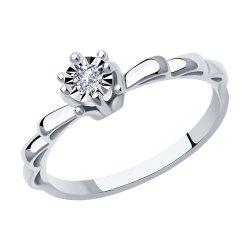 Помолвочное кольцо из золота SOKOLOV АРТ 1012041 1
