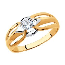 Inel din aur SOKOLOV art 51-110-00591-1 1