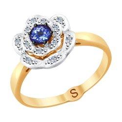 Inel din aur SOKOLOV art 6014069 1