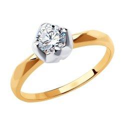 Помолвочное кольцо из золота SOKOLOV АРТ 81010537