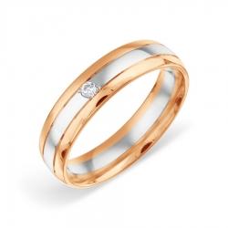 Обручальное кольцо из золота KARATOV АРТ t132019106-k*11 1