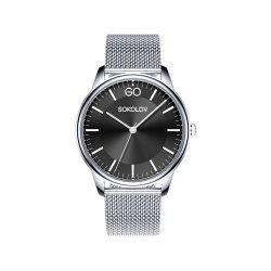 Часы из стали из серебра SOKOLOV АРТ 326.71.00.000.02.01.2 2