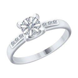 Помолвочное кольцо из золота SOKOLOV АРТ 1011742 1