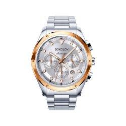 Часы из стали из серебра SOKOLOV АРТ 320.76.00.000.04.01.3 2