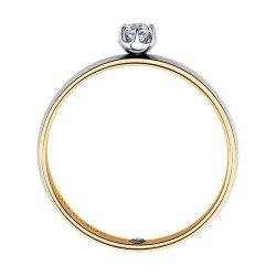 Помолвочное кольцо из золота SOKOLOV АРТ 1014113-01 2