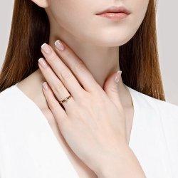 Помолвочное кольцо из золота SOKOLOV АРТ 1014117-01 3