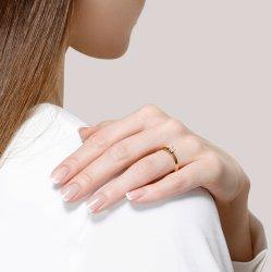 Помолвочное кольцо из золота SOKOLOV АРТ 1014117-01 4