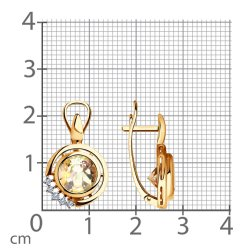 Cercei din aur SOKOLOV art 6024108 3