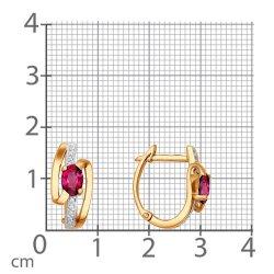 Cercei din aur SOKOLOV art 4020114 2