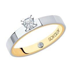 Помолвочное кольцо из золота SOKOLOV АРТ 1014118-01 1