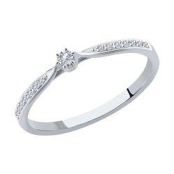 Помолвочное кольцо из золота SOKOLOV АРТ 1012094 1