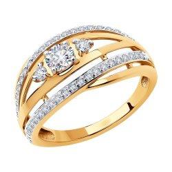 Inel din aur SOKOLOV art 51-110-00629-1 1