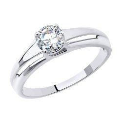 Помолвочное кольцо из золота SOKOLOV АРТ 81010535-3