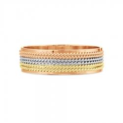 Обручальное кольцо из золота KARATOV АРТ t110619121-k 2