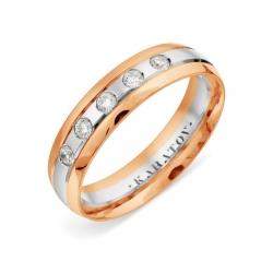 Обручальное кольцо из золота KARATOV АРТ t132019116-k*11 1