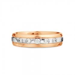Обручальное кольцо из золота KARATOV АРТ t132019116-k*11 2