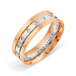 Обручальное кольцо из золота KARATOV АРТ t132019117-k*11 1
