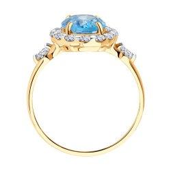 Inel din aur SOKOLOV art 716175 2