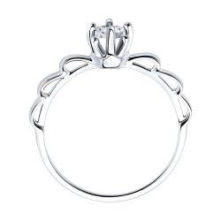 Помолвочное кольцо из золота SOKOLOV АРТ 1012041 2