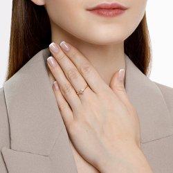 Помолвочное кольцо из золота SOKOLOV АРТ 1011965 4