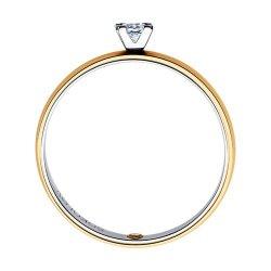 Помолвочное кольцо из золота SOKOLOV АРТ 1014117-01 2