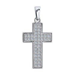 Крестик из серебра SOKOLOV АРТ 94032565 1
