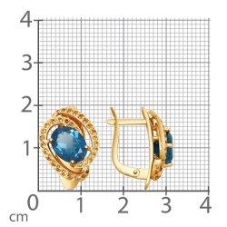 Cercei din aur SOKOLOV art 725131 3