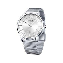 Часы из стали из серебра SOKOLOV АРТ 325.71.00.000.01.01.3 1