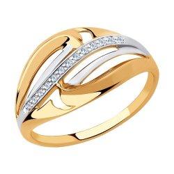 Inel din aur SOKOLOV art 51-110-00374-1