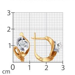 Cercei din aur SOKOLOV art 1020387 2